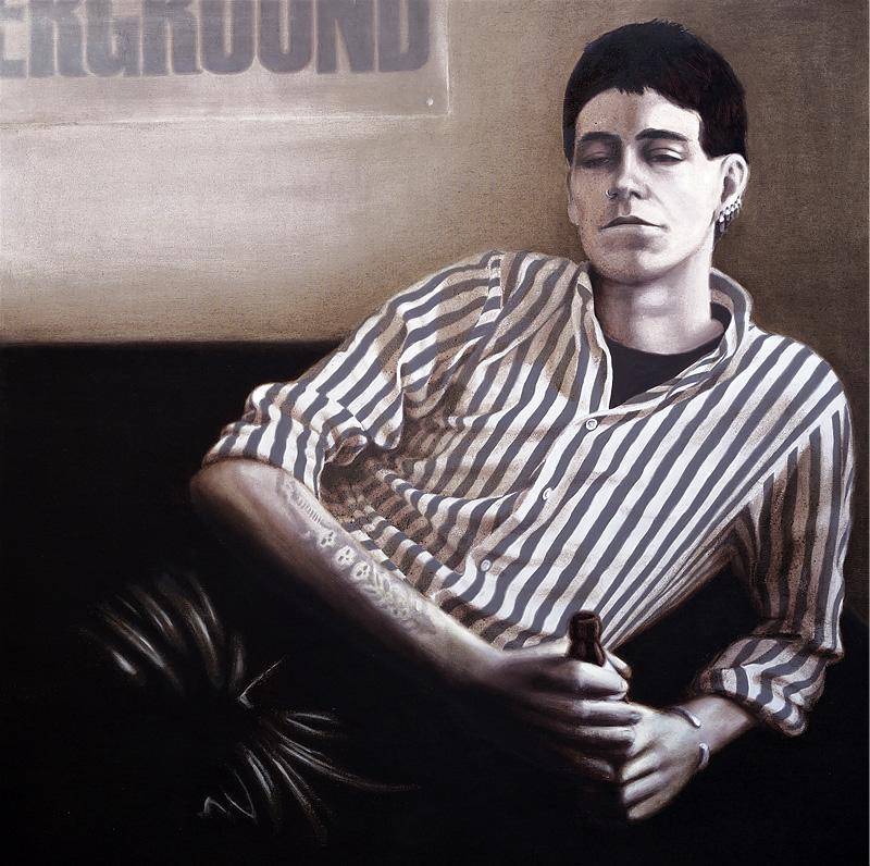 Jim Bob / Öl auf Leinwand / 90x90 / 2008