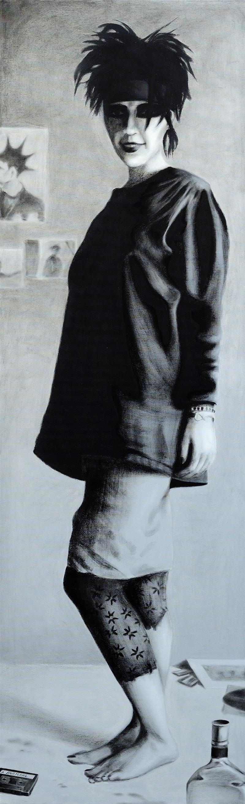Krähe / Öl auf Leinwand / 50x70 / 2008