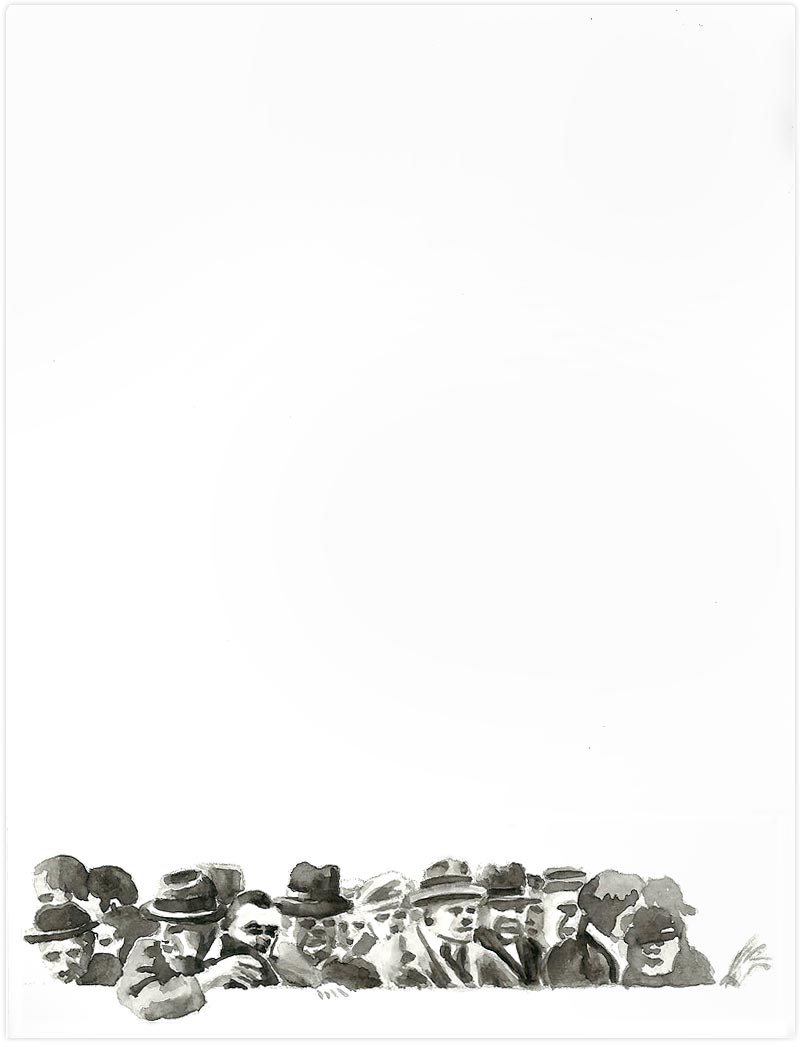Aquarell auf Papier / 15x20 / 2010